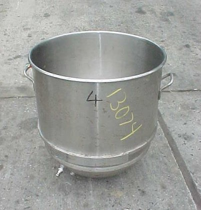 stainless steel sanitary mixing bowl