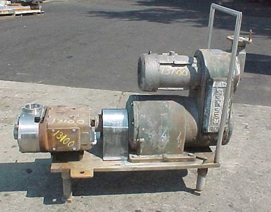 Waukesha Model 220 Pump Lobe