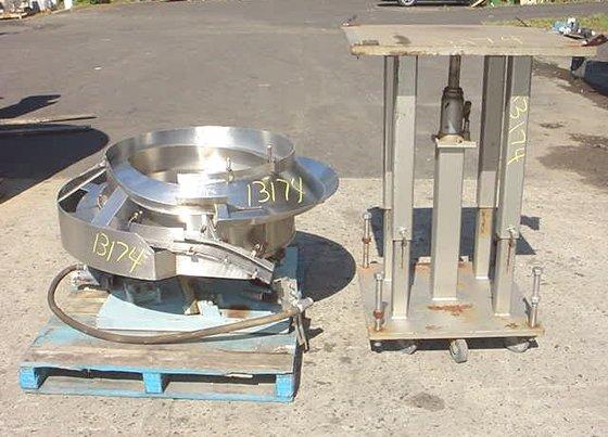 "30"" diameter stainless steel pneumatically"