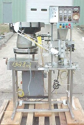 single head automatic capper by