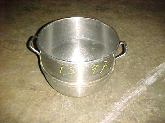 stainless steel sanitary miixing bowl