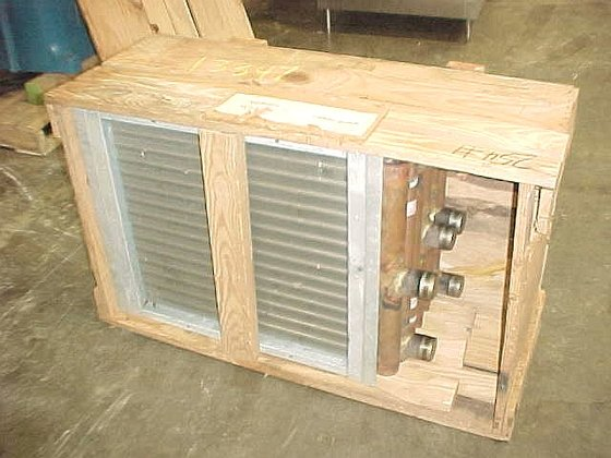 three unused independent heating coils
