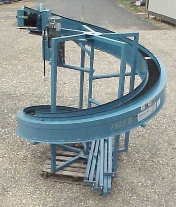 """spiral lift conveyor"" by portec.flowmaster"