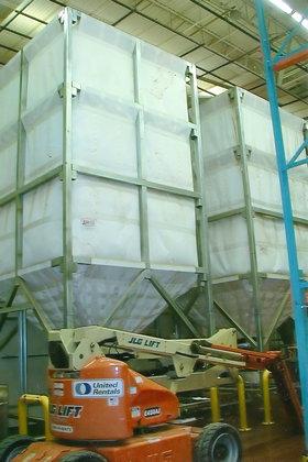 twin 53 cubic meter capacity
