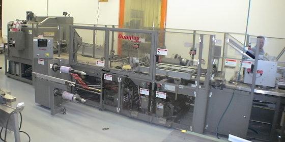 Douglas Machine Shrink Overwrapper Shrink