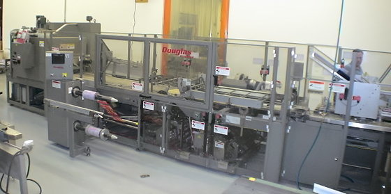 Douglas Machine Shrink Overwrapper Shrink