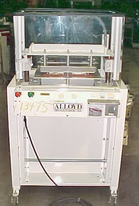 Alloyd Semi Automatic Blister Sealer