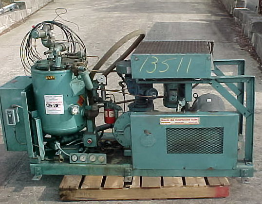 quincy rotary type air compressor.model