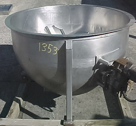Paddle Agitated Kettle 200 Gallon