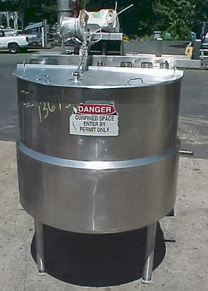Cherry Burrell 500 Gallon Kettle