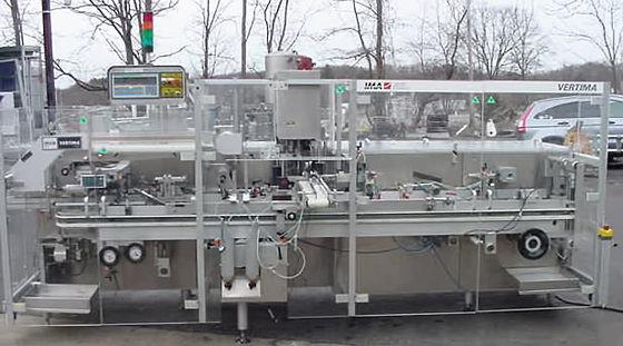 Ima Vertical Cartoning Machine Cartoning