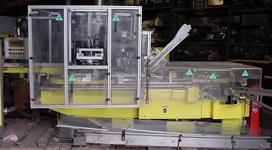Cam Packaging Auotmatic Cartoner Vertical