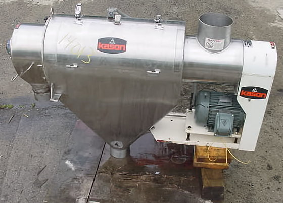 "kason ""centri-sifter"" centrifugical sifter.model y"