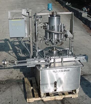 mrm/elgin rotary piston filler model