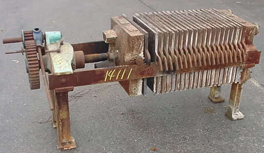 carbon steel filter press by