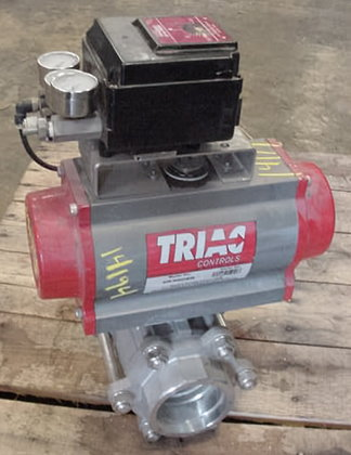 Triac Controls Ball Valve #14194
