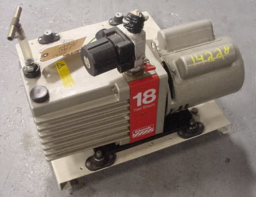 """edwards """"18 two stage"""" vacuum"""