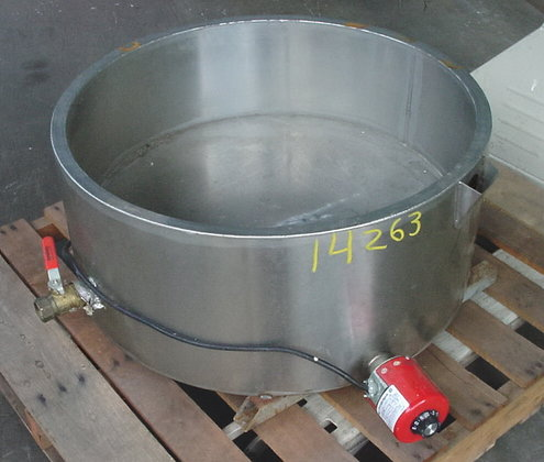 Open Sytle Jacketed Ss Tank