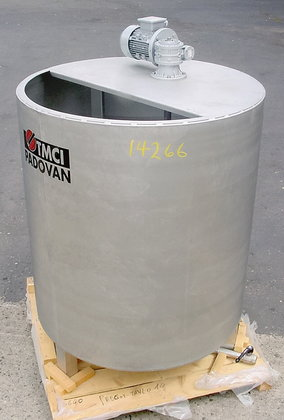 350 gallon stainless steel vertical
