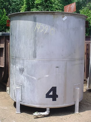 1000 Gallon Stainless Steel Tank