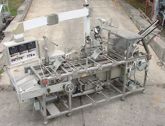 three position carton labeler by