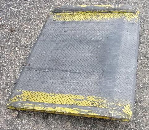 aluminum dock plate.mfg by brooks