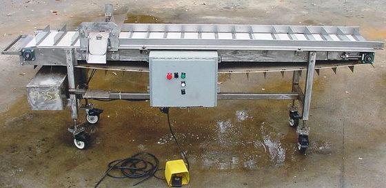 Conveyor Cleated 9 Foot Conveyor