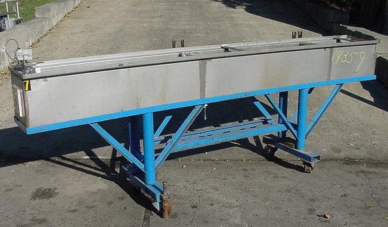 Plastic Extrusion Coolant Tank Extrusion