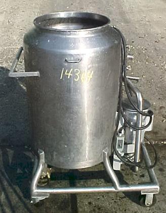 60 Gallon Jacketed Mixing Tank