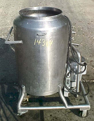60 Gallon Jacketed Mixing Tank