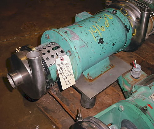 Ladish Tri Clover Sanitary Pump