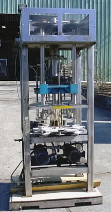 eight station rotary pneumatic bottle