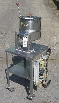 20 quart tilting kettle by