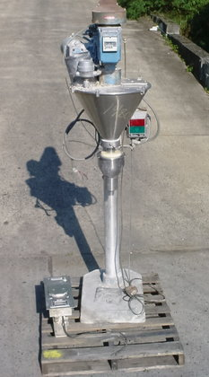 mateer post mounted auger filler.model