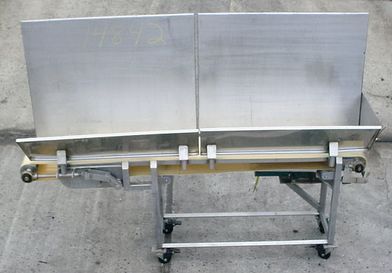 Ss Sanitary Belt Conveyor 10""