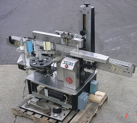 Labeler Frame For Rebuild Labeler