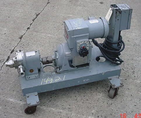 Waukesha Positive Displacement Pump Size