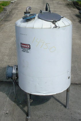 300 gallon food grade stainless