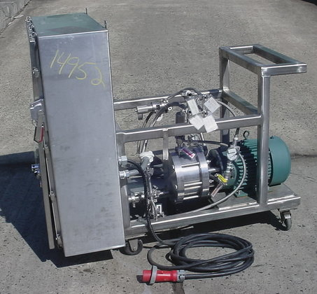 hydrodynamics inc.cavitation reactor.model spr.serial #