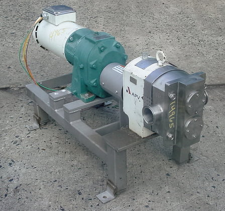 Apv Lobe Type Pump Type