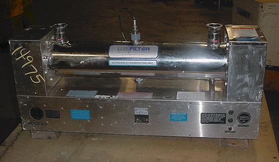 ultraviolet continuous liquid sterilizer by