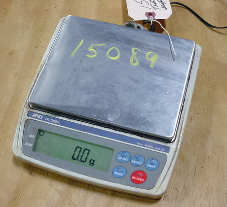 laboratory table top scale by