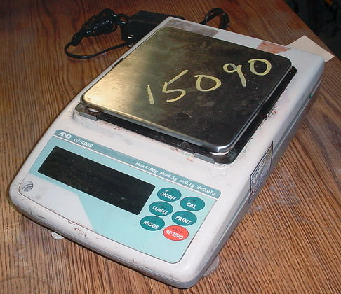 table top laboratory scale by