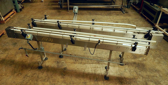 18' Long Sani Ss Conveyor