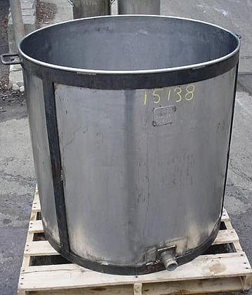 130 Gallon Ss Tank #15138