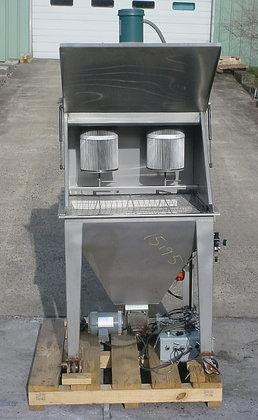 all stainless steel dump bin