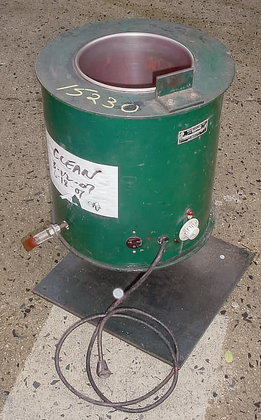 3 gallon electrically heated stainless
