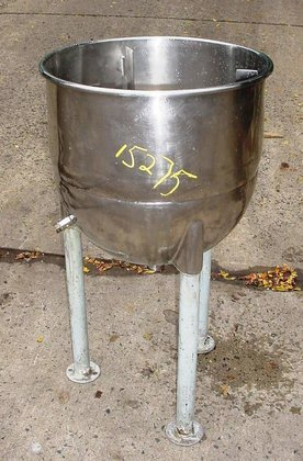 20 gallon capacity stainless steel