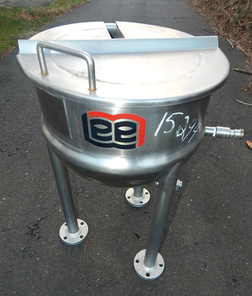 10 gallon open top stainless