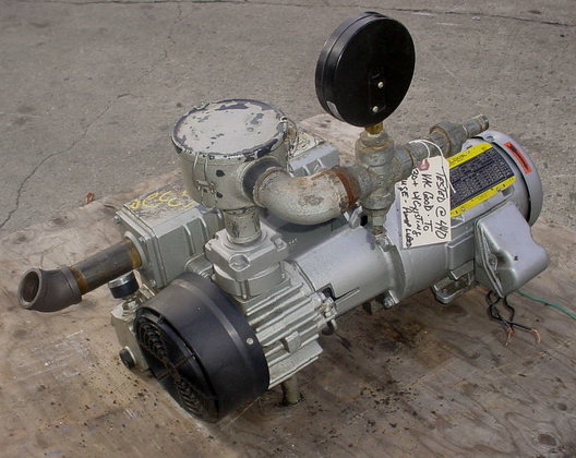 Bush Vacuum Pump Rc 0025-c406-1000